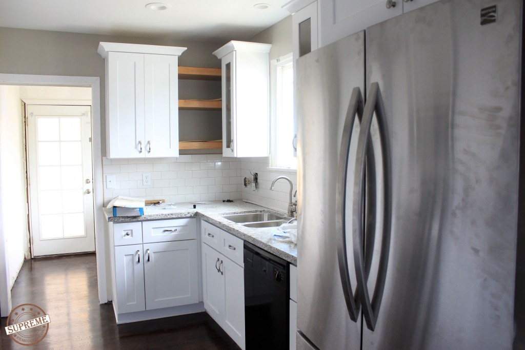 Complete kitchen remodel in Fullerton CA