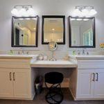 Dual Sink Bathroom Vanity in Encino