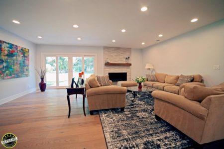 Living Room Remodel in Encino